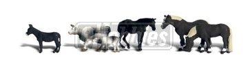 Woodland Scenics N Farm Animals WOOA2142 by Woodland Scenics