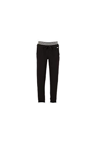 Caf Noir JJP239010040 010 Nero 40 Pantalon avec Manchette