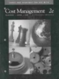 Cases and Readings in Strategic Cost Management for use with Cost Management: A Strategic Emphasis