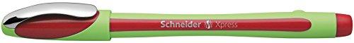 Schneider Xpress Fineliner (0,8 mm) 10er Packung rot