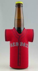 - Kolder MLB Boston Red Sox Bottle Jersey, One Size, Multicolor