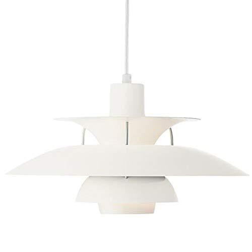 Bdenise 21 Inch Ceiling Light and Pendant, Reproduction Louis Poulsen PH5 PH50 Denmark -