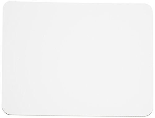 Charles Leonard Dry Erase Lapboard, 9 x 12 Inches, Masonite, One Sided, Plain White, 1 Each (35100) (Mini White Boards)