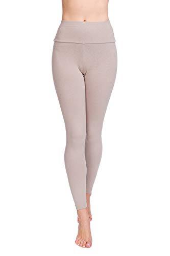 SOFTSAIL Hoge taille Womens Leggings Tummy Control zachte katoenen broek LWP
