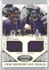 Maxx Williams; Stefon Diggs #625/799 (Football Card) 2015 Panini Certified - New Generation Dual Jerseys #NG-MIN (Maxx Ball)