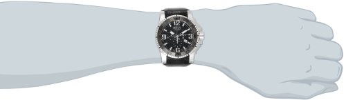 Invicta Men's 80719 Excursion Analog Display Swiss Quartz Black Watch