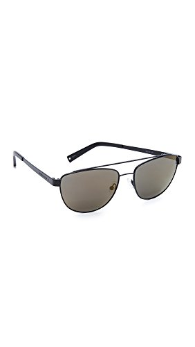 KENDALL + KYLIE Women's Lexi Aviator Sunglasses, Matte Black/Smoke Gold, One - Sunglasses And Kylie Kendall