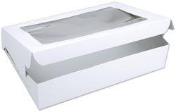Bulk Buy: Wilton Window Cake Box For 12''X18'' Cakes Or 24 Cupcakes 14''X19''X4'' W415947 (12-Pack)