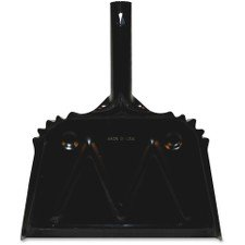 Genuine Joe Heavy-Duty Metal Dustpan - Pan Genuine