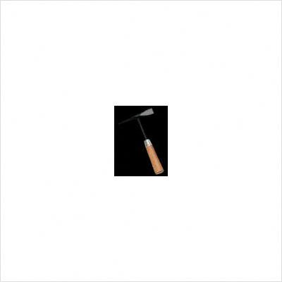 J Wood Handle Chipping Hammer With Cone And Chisel