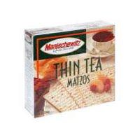 Manischewitz Thin Tea Matzo, 10 Ounce -- 1 (Matzo Thins)