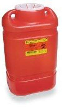 9872130 PT# 305491 Collector Sharps 5gal XL Red Multiuse Ea Made by Becton-Dickinson by BND- Becton-Dickinson
