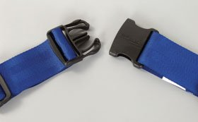 DSS SkiL-Care Wheelchair Safety Belt (Safety Belt, Side Release Buckle, fits up to 42'')