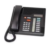 Nortel Meridian Phone System - Norstar M7208 Black Phone