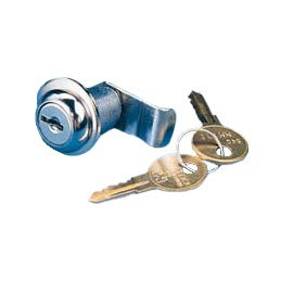 Halyard Cover (Cylinder lock for halyard cover w/keys)