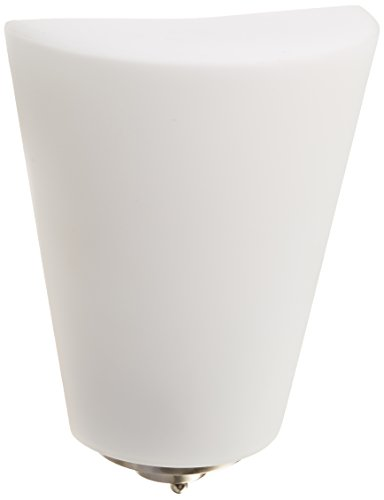 Progress Lighting P7092-09WB GU24 CFL Wall Sconce, 1-26-watt by Progress Lighting