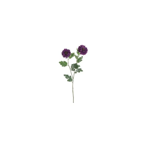31″ Zinnia Mum Spray Purple (pack of 12)