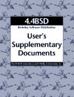 4.4bsd User's Supplementary Documents (Usd), UC Berkeley Computer Systems Research Group, 1565920767