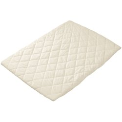 Babydoll Bedding Flat Waterproof Mattress Pad For Cradle - Size 18'' x 36'' by BabyDoll Bedding