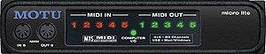Mark of the Unicorn Micro Lite USB MIDI Interface by Mark of the Unicorn