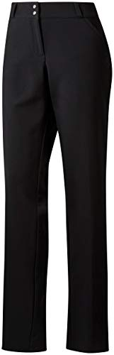 Golf Pants Ladies (adidas Golf Women's Fall Weight Pants, Size 10, Black)