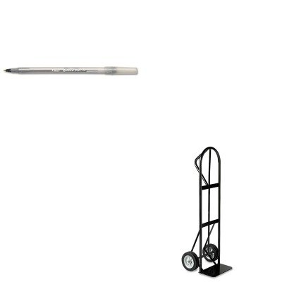KITBICGSM11BKSAF4071 - Value Kit - Safco Tuff Truck Economy Truck (SAF4071) and BIC Round Stic Ballpoint Stick Pen (Safco Tuff Truck)