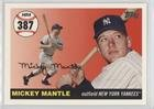 - Mickey Mantle (Baseball Card) 2006 Topps - Multi-Year Issue Mickey Mantle Home Run History #MHR387
