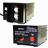 Mobile Power Supply - Audiotek - Output 16A Amp Mobile 13.8 Volt DC Power Supply AT-PS16