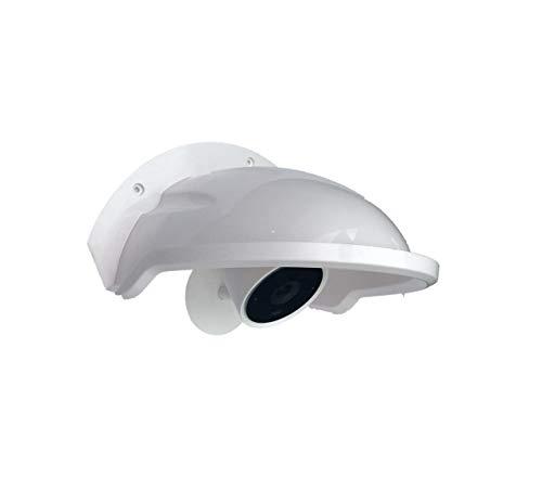 Universal Sunshade Rainshade Camera Cover Shield for Outdoor Nest/Nest IQ Camera - White