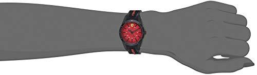 Ferrari Red Rev Chronograph Black and Yellow Dial Men's Watch 830342