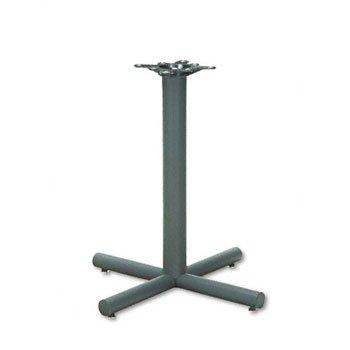 HON® Single Column Steel Base BASE,TBL,HOSP,BK (Pack of2)