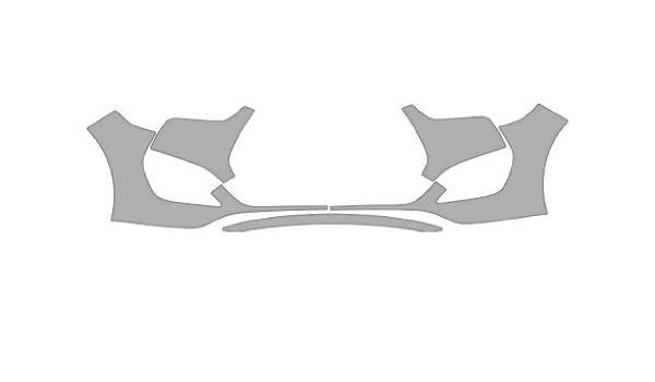 invisiblemask: transparente sujetador Kit de Pintura Protección de Película para una cobertura de Hyundai Veloster Turbo. Incluye un Bumper 2 (más costuras) ...