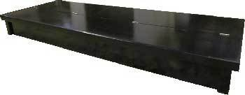 R&J Enterprises ARJ00519 Birch Wood Aquarium Canopy, 72 by 24-Inch, Black ()