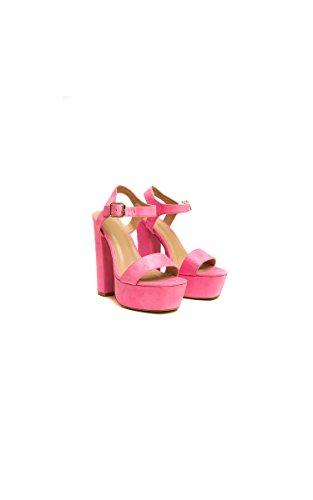 Ikrush Womens Alexi Strappy Platform Block Heels Pink KYedXkCvon
