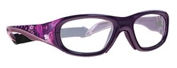 Viva-Guard X-Ray Radiation Protection Glasses, 0.75mm Pb Equivalency Lens, Fancy Flight by Colortrieve