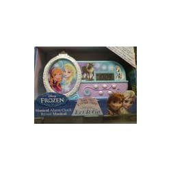 Queen Princess Elsa night glow alarm clock parallel import goods and snow Disney Frozen Disney Ana