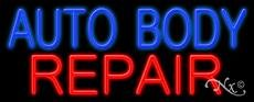 (Auto Body Repair Neon Sign - 13'' x)