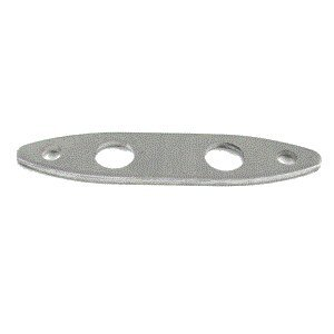 Whitecap Aluminum Backing Plate f/6810 Push Up Cleat (6810BP) (36196)