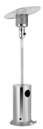Activa Edelstahl Heizpilz mit Schwenkreflektor bis max. 12 kw, Silber