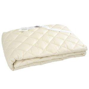 Nacelle フランス産ウール100%ベッドパッド (3NN-2015Y) シングル 100×200 B072HMHC83 シングル  シングル