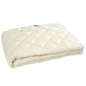 Nacelle フランス産ウール100%ベッドパッド (3NN-2015Y) セミダブルロング 120×210 B071KZPHKJ セミダブルロング  セミダブルロング