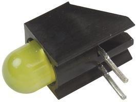 CHICAGO MINIATURE LIGHTING - 5300H7 - INDICATOR, LED PCB T-1 3/4, YELLOW, 2.1V