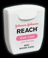 Reach Gentle Gum Care Woven Dental Floss, Fluoride, 50-Yard Dispensers (Pack of 6), Health Care Stuffs