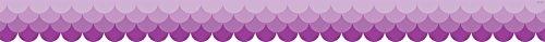 Creative Teaching Press Ombre Purple Scallops Borders -