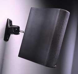 Omnimount Universal Wall/ceiling Speaker Mount - 10 Lb - Black