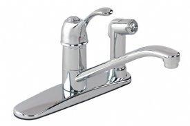 Allerton Kitchen Faucet - Gerber 40-350 Allerton Single Handle Kitchen Faucet, Polished Chrome