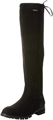 London 999 Mosqueteras Mujer Pepe black Amy Para Jeans Botas Hight Negro vwXw5BCqxW