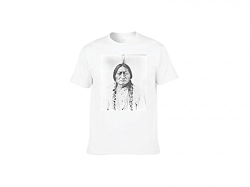 T-Shirt with Portrait of tribal chief Sitting