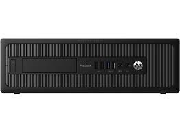 HP ProDesk 600 G1 Small Form Factor (SFF) Business Desktop Computer, Intel Pentium G3420 Processor 3.2GHz, 8GB RAM, 500GB HDD, DVD, USB 3.0, WiFi, Windows 10 Professional (Certified Refurbished) (Sff Hp Prodesk 600 G1)