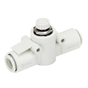SMC AS1002F-06-J speed control, inline, 6mm